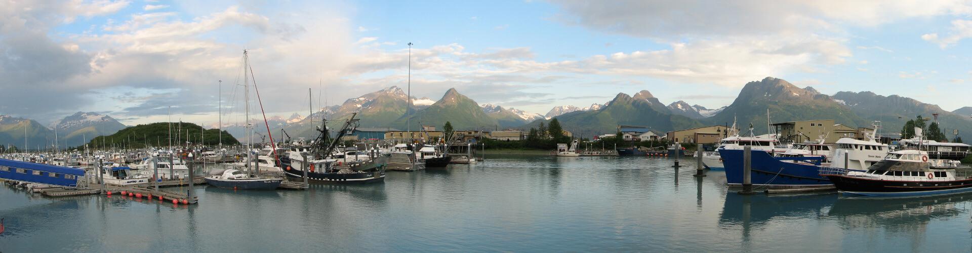Valdez Alaska view from lodging